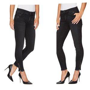 NYDJ Ami Skinny Zipper Ankle Jeans 14 Petite NWT